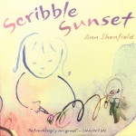 Scribble Sunset Cover 2008 by Ann Shenfield